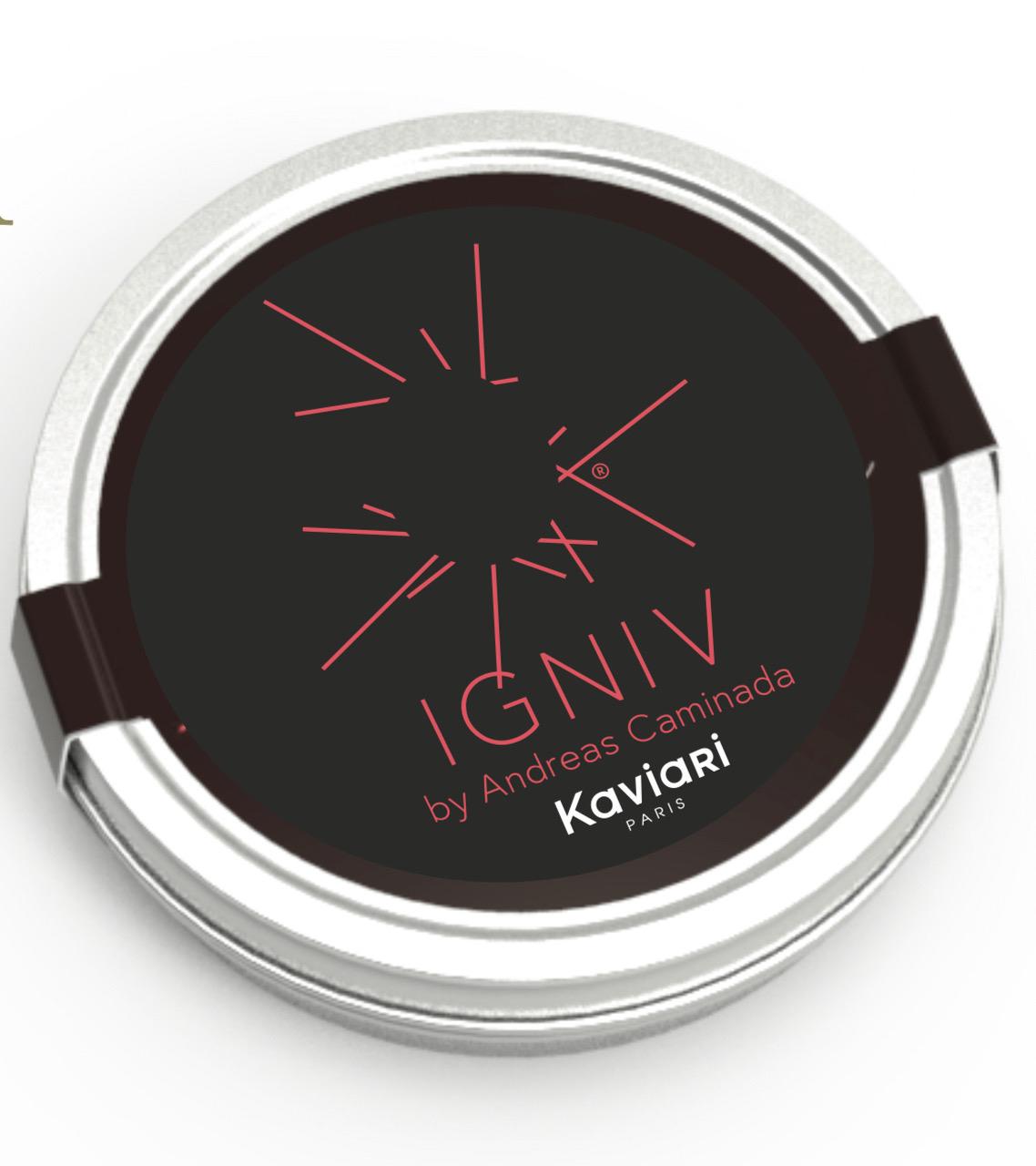 Andreas Caminada Edition IGNIV (Fundaziun Uccelin): Kristal Caviar